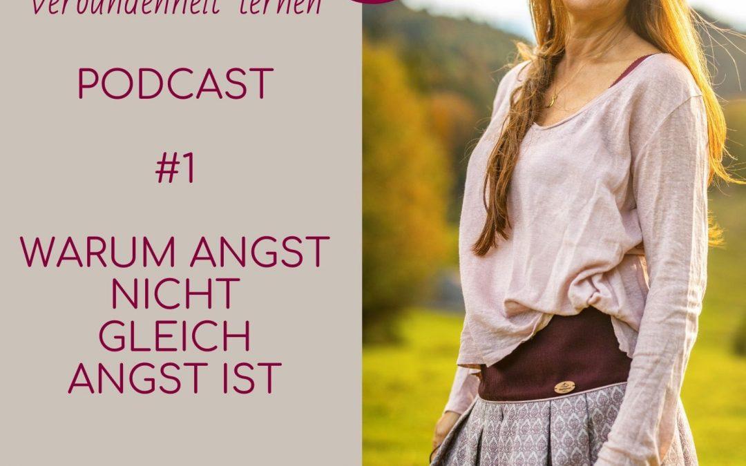 #1 Podcast – Warum Angst nicht gleich Angst ist